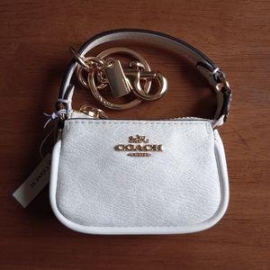 Coach Mini Nolita Signature Bag Charm